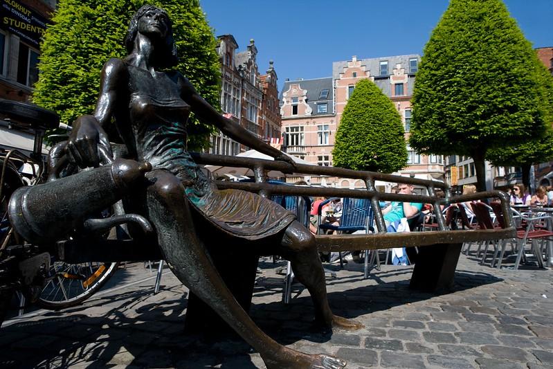 ¿Qué ver y hacer en Lovaina en un día?-De Kotmadam (la casera). Lovaina Bélgica.