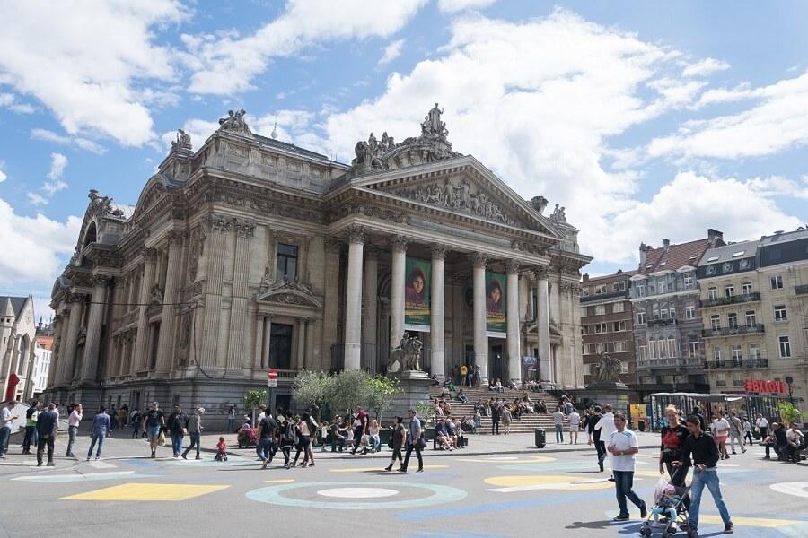 Palacio de la Bolsa de Bruselas - La Bourse