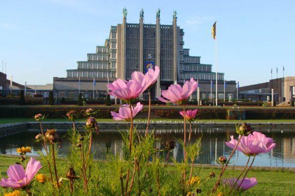 Palais 5 Heysel - Art Decó Bruselas.