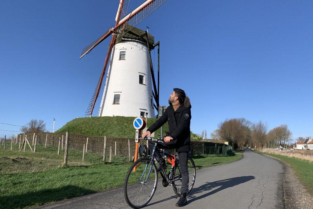 Paseo en bicicleta de Brujas a Damme – Molino de Damme