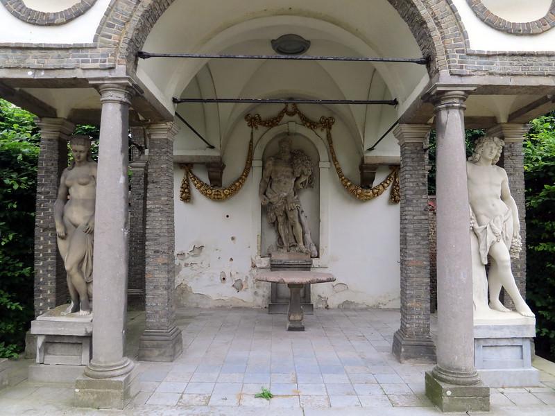 Patio de la casa de Rubens, Amberes