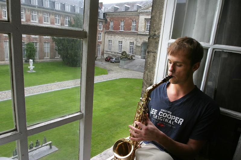 ¿Qué ver y hacer en Lovaina en un día?-Colegio Adriano de Utrecht, Lovaina Bélgica.