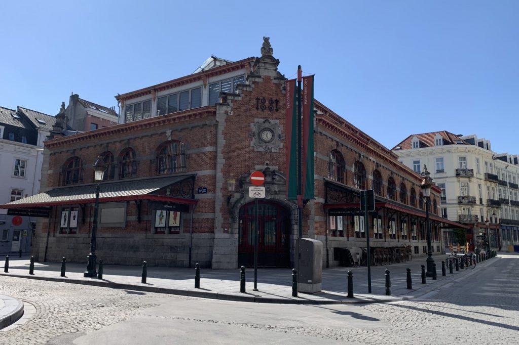 Place Saint-Gery y Les Halles Saint-Géry.