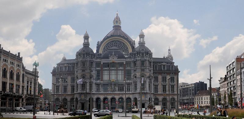La Plaza Astrid, Amberes -Excursión a Amberes desde Bruselas - En imágenes