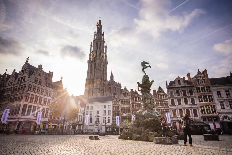 Grote Markt (Plaza mayor) Amberes