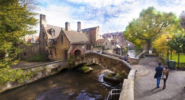 Brujas una de las ciudades más bonitas y románticade Europa.