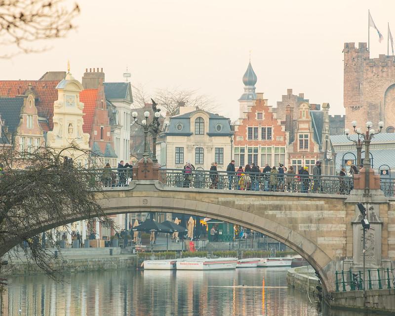 Excursión a Gante desde Bruselas - En imágenes - Puente de San Miguel - Gante