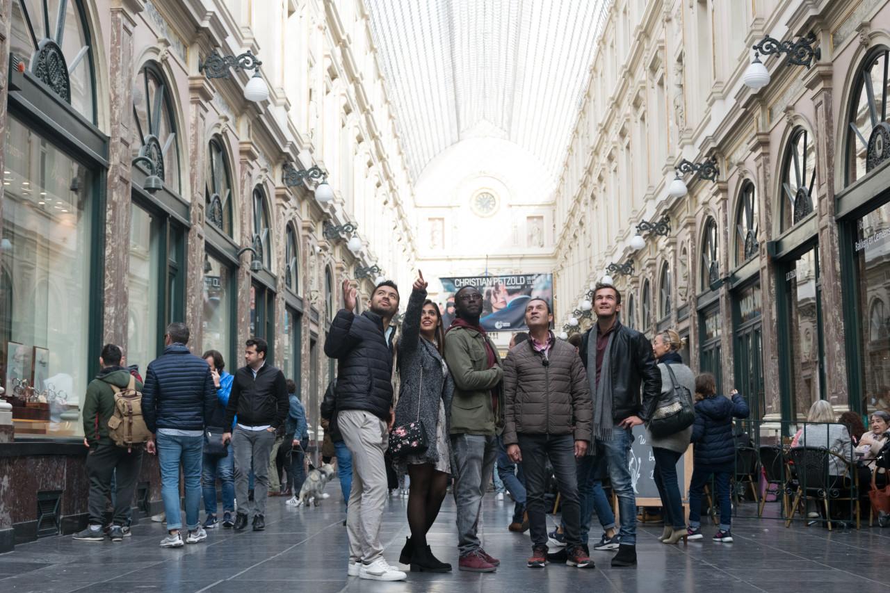 Que ver en Bruselas, lugares imprescindibles y lugares secretos en Bruselas para visitar - Las galerías Saint Hubert o Galerías Reales
