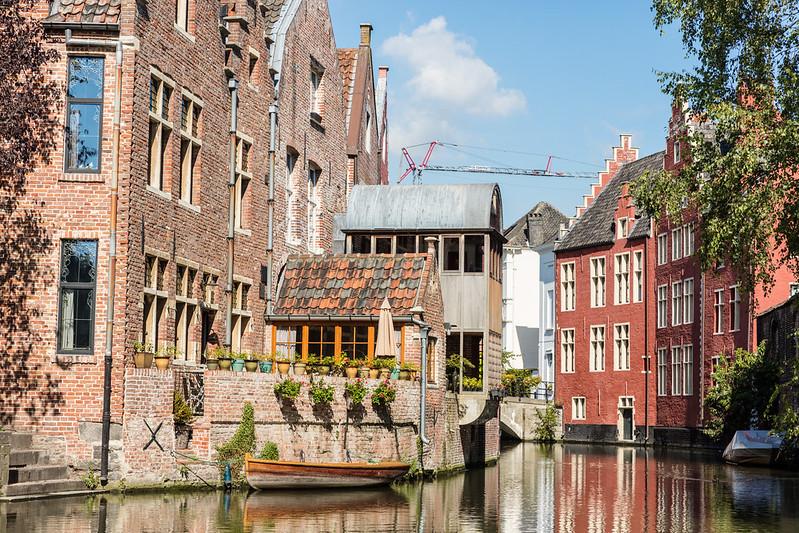 Los Canales de Gante - Excursión a Gante desde Bruselas - En imágenes.