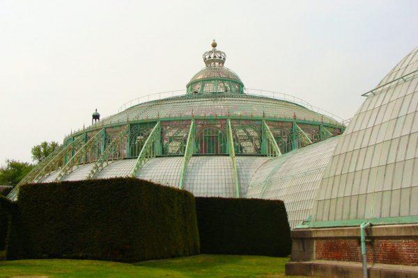 Invernaderos Reales de Laeken - Tour Art Nouveau y Art Déco por Bruselas.