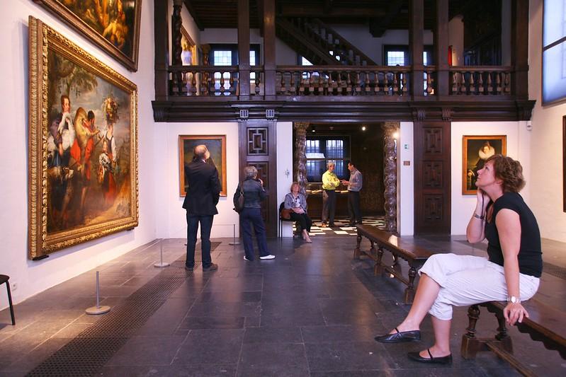 Interior de la casa Museo de Pedro Pablo Rubens, Amberes.
