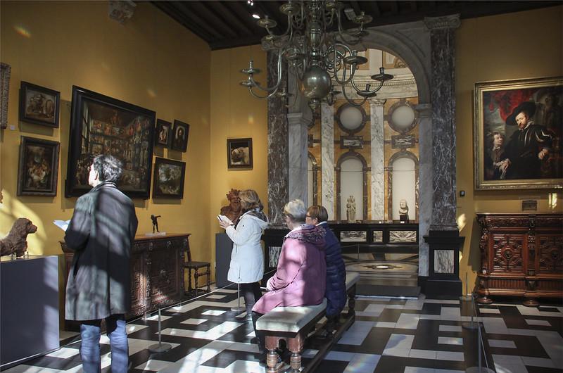 Salon de reunion, Casa Museo Pedro Pablo Rubens (Amberes).
