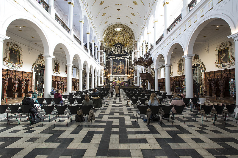 La iglesia de San Carlos Borromeo - Amberes.