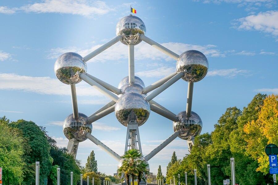 El Atomium - Bruselas.