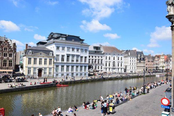 Los muelles de Graslei y Korenlei - Paseo por los canales de Gante.