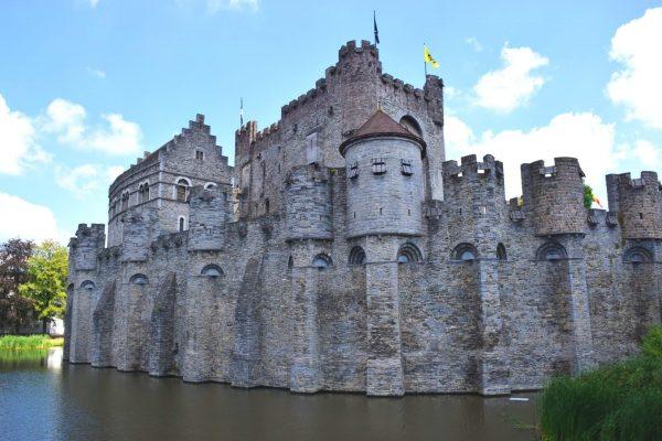 The Gravensteen - Residencia de los Condes de Flandes - Gante