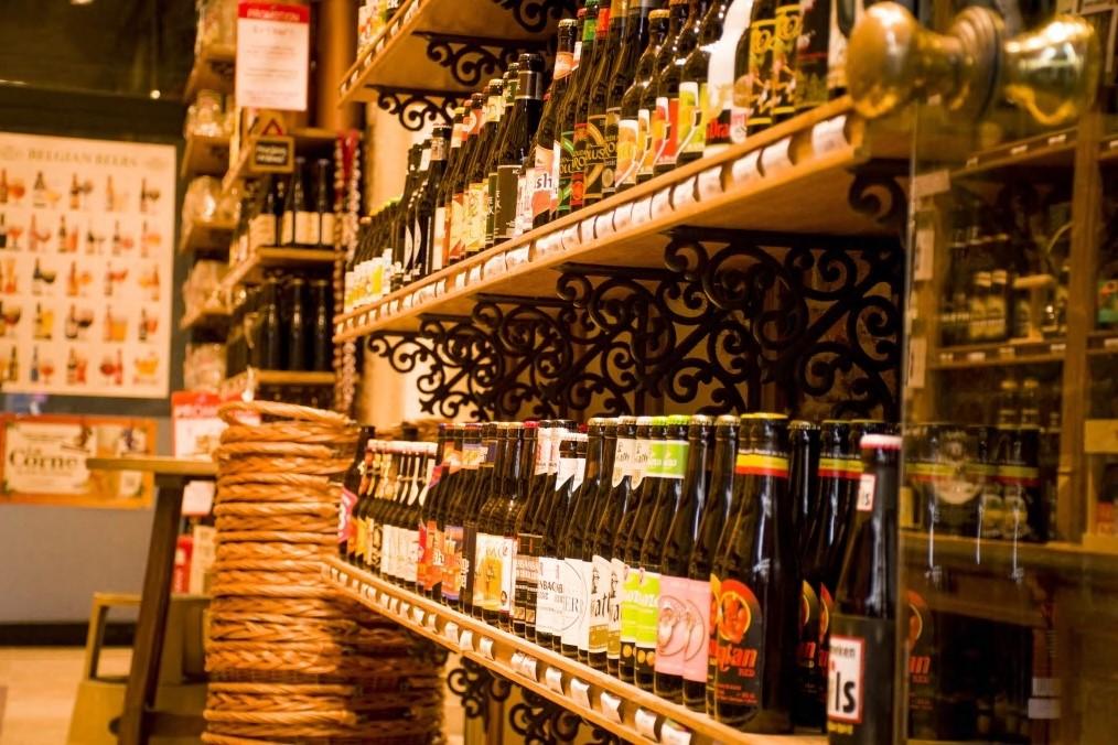 Tienda de cervezas artesanales belgas - Bruselas