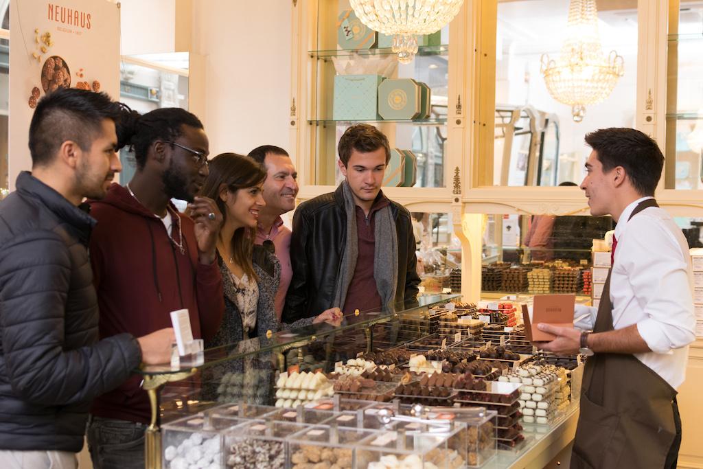 Bravo Discovery /Tour de degustación de chocolate belga por Bruselas / Neuhaus.