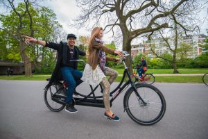 Tour en bicicleta por Ámsterdam - ©World Poker Tour