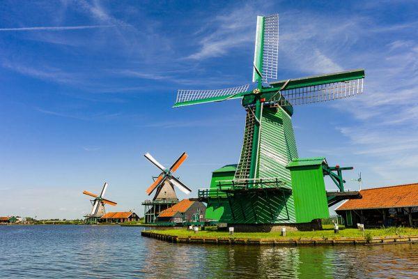 Tour por los molinos de viento de Zaanse Schans