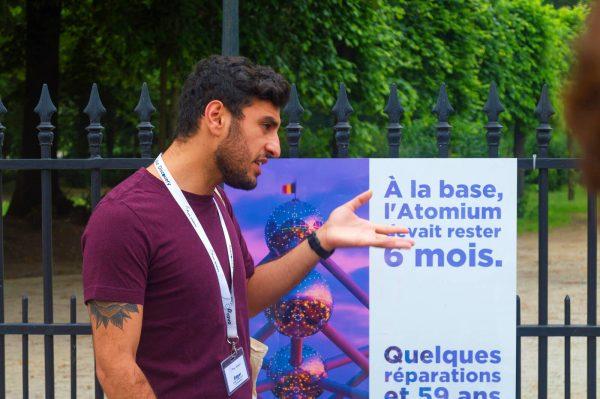 Guía turístico - Información sobre el Atomium - Free tour de Bruselas.