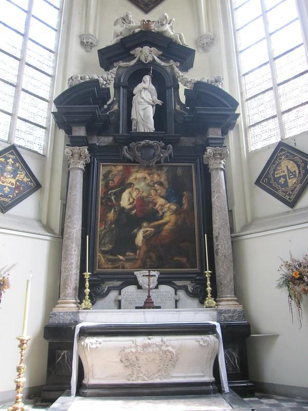 Tumba de Rubens, Iglesia de San Santiago, Amberes.