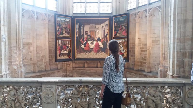 ¿Qué ver y hacer en Lovaina en un día?-Tríptico la Ultima Cena: 1464 – 1468. Dieric Bouts. Lovaina Bélgica. Iglesia de San Pedro (Sint-Pieterskerk). Lovaina Bélgica.