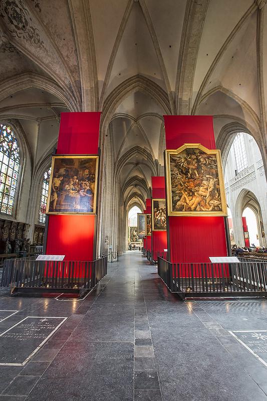 Obras de Otto van Veen, Jacob de Backer y Marten de Vos - Catedral de Nuestra señora de Amberes.