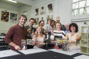 Atelier de chocolat belge en ligne - Workshop de chocolat belge en ligne