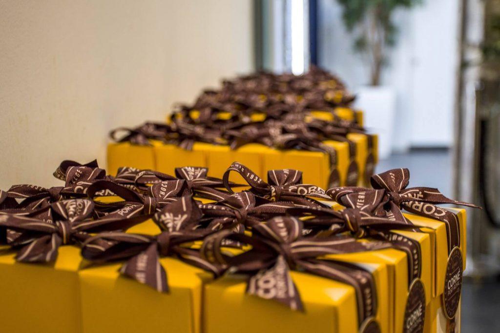 Circuit dégustation de chocolat belge - Bruxelles (Belgique).