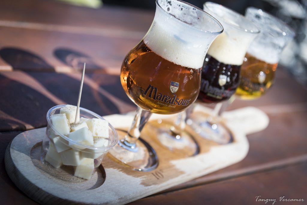 Bière Maredsous abbaye (Copyright tanguy vercamer)