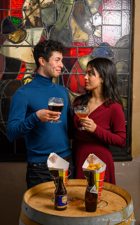 Bière Orval et Chimay