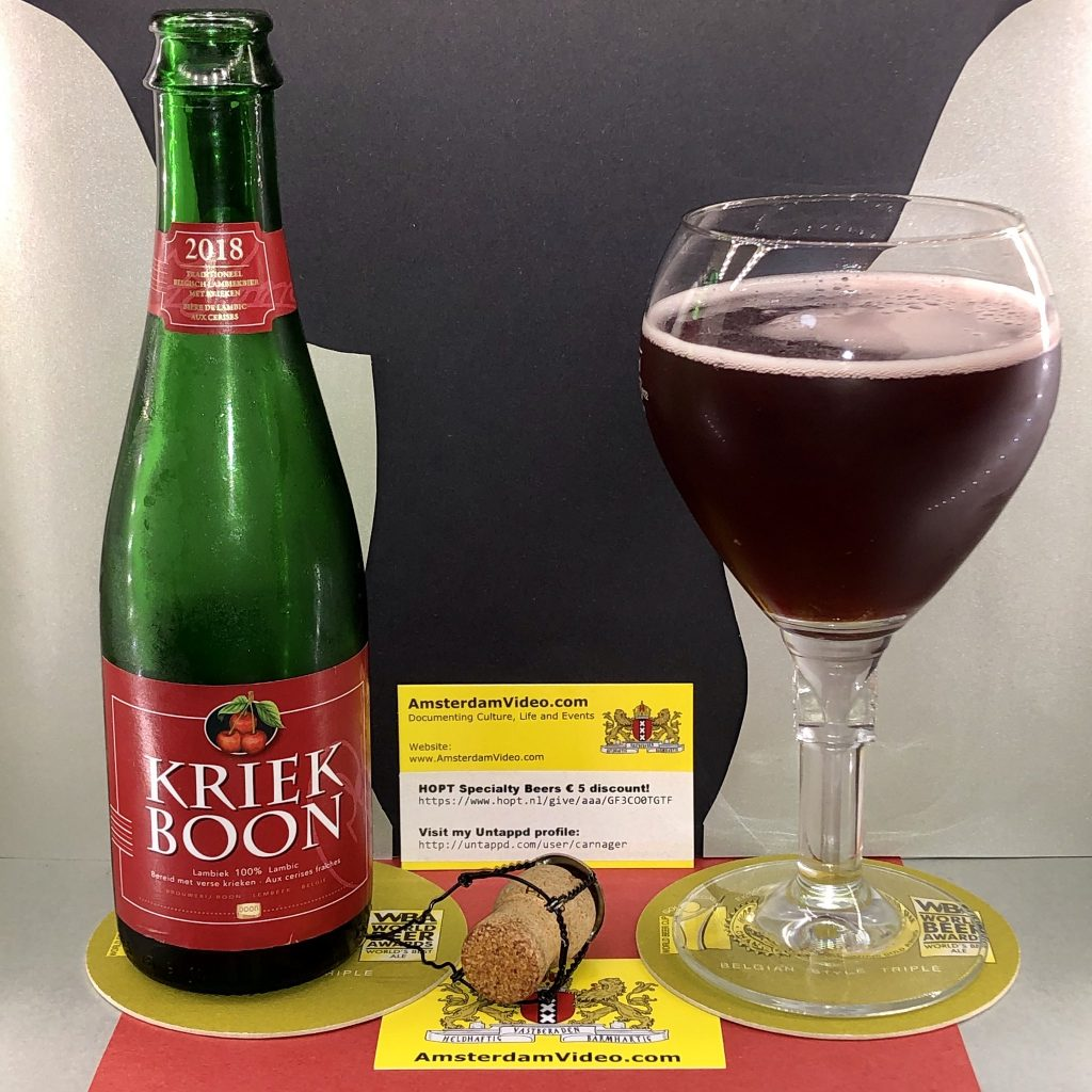 Image de la Bière Boon Kriek