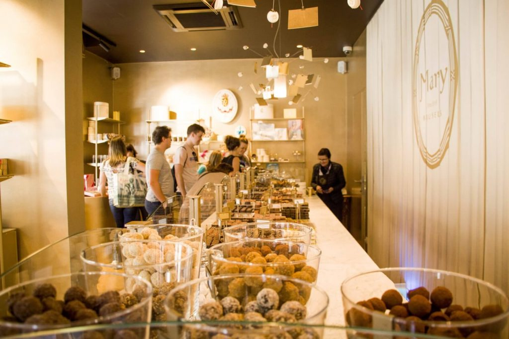 Chocolate tasting tour – Chocolaterie Mary Brussels