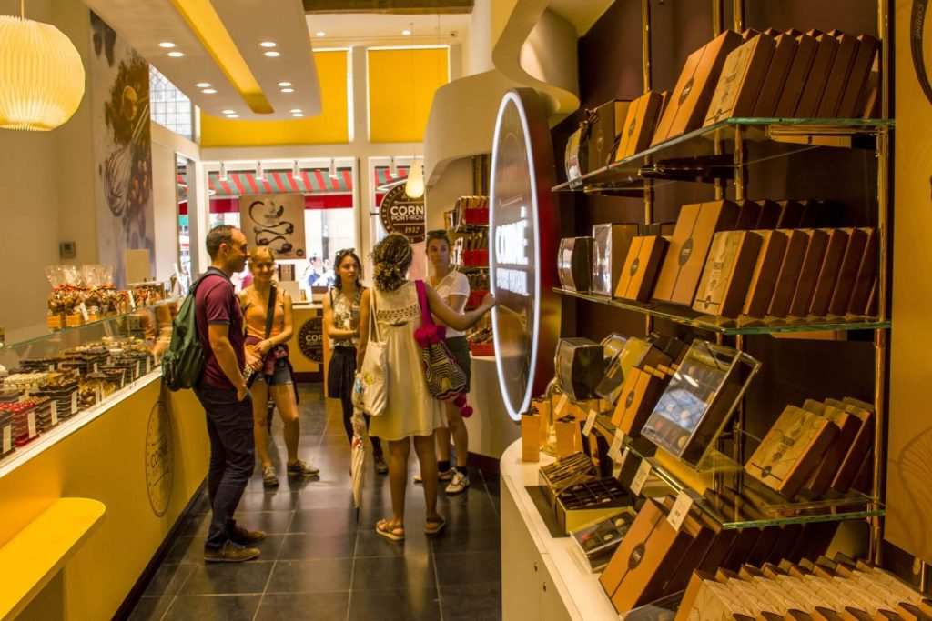 Chocolate tasting tour – Corné Port-Royal Brussels