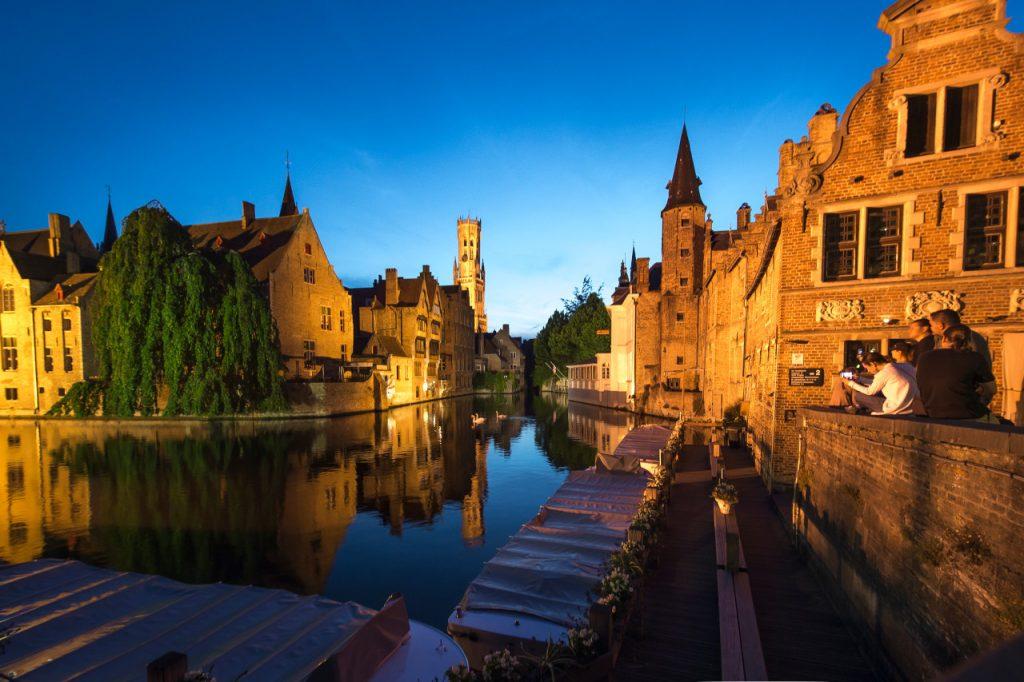 Excursion d'une journée à Bruges Belgique - Une journée à Bruges, les canaux