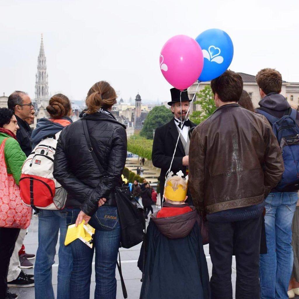 Fêtes de l'Iris Bruxelles - Visite guidée de Bruxelles.