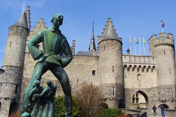 Het Steen - Château de Steen (Anvers) - Visite privée d'Anvers.