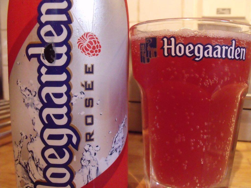 Image de la Bière Hoegaarden Rosée
