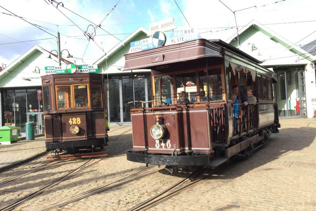 Le musée du tram fête les 150 ans du tram à Bruxelles
