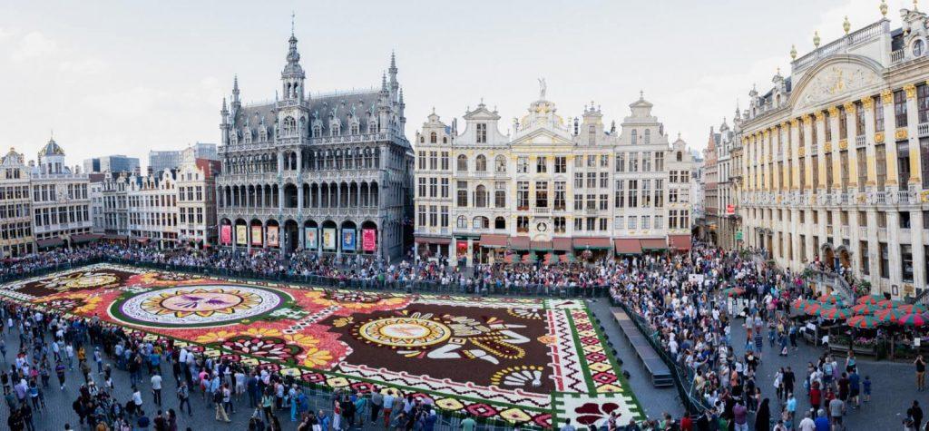 Le tapis de fleurs 2018 – Grand-Place de Bruxelles – Free tour Bruxelles