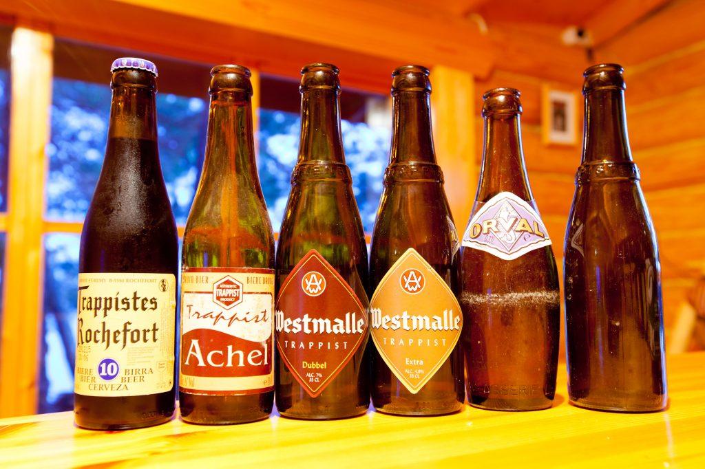 Les bières Trappistes belges.