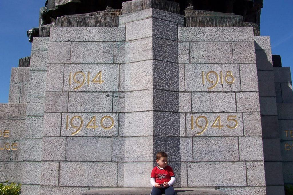 Monument à la Gloire de l'Infanterie Belge - Bruxelles - Visite guidée Bruxelles 14-18