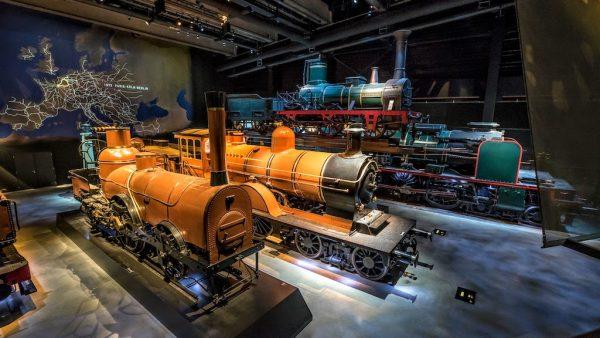 Musée du Train World à Bruxelles