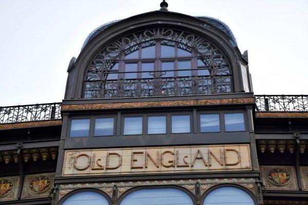 Bâtiment Old England (MIM) - Art Nouveau Bruxelles