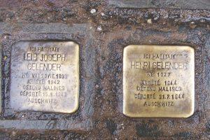 Pavés de la mémoire à Bruxelles - Visite guidée Bruxelles la Juive