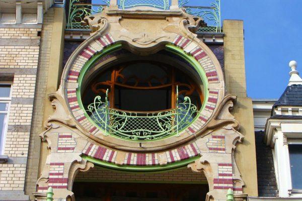 Maison Saint-Cyr à Bruxelles - Square Ambiorix - Art Nouveau et Art Déco à Bruxelles.