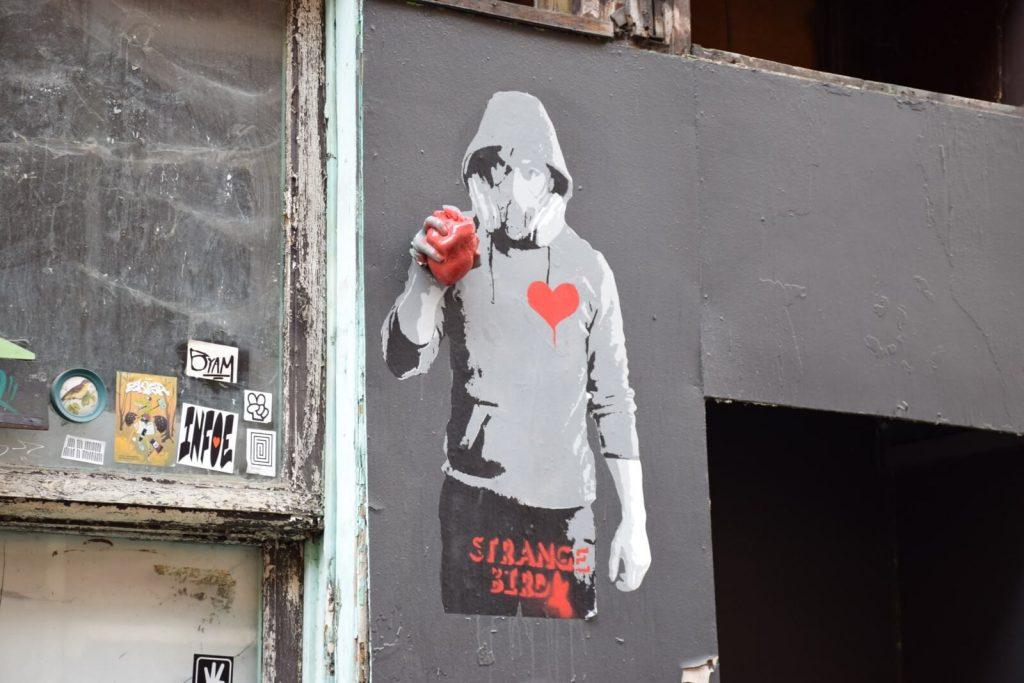 Strange Bird - Le street art à Bruxelles
