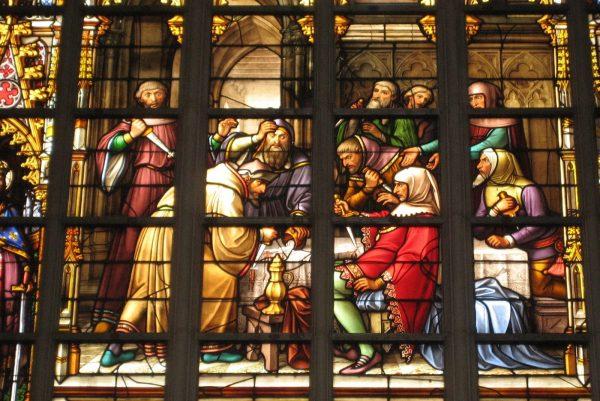 The Brussels massacre - Cathédrale Saints-Michel-et-Gudule - Visite guidée Bruxelles la Juive