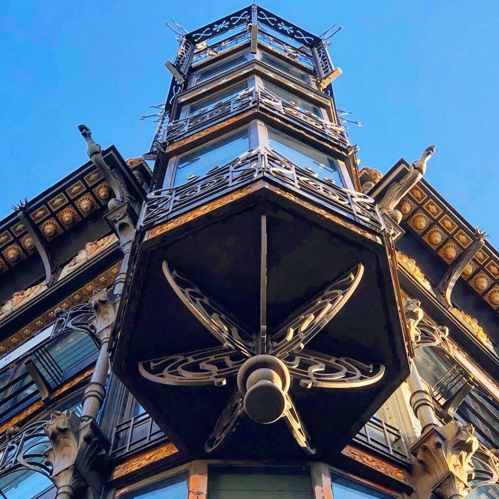 Bâtiment le MIM - Art Nouveau Bruxelles.